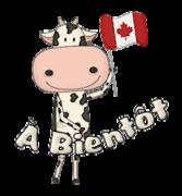 A Bientot - CanadaDayCow