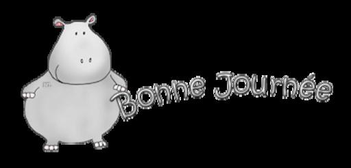 Bonne Journee - CuteHippo2018