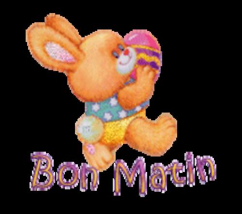 Bon Matin - EasterBunnyWithEgg16