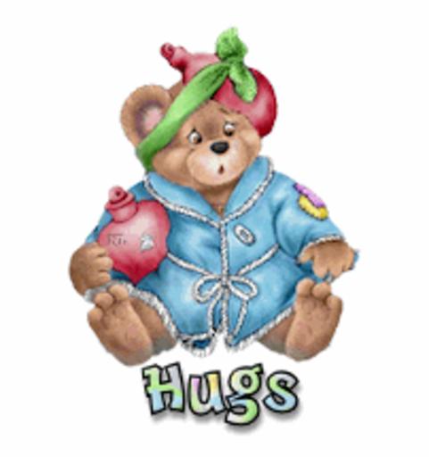 Hugs - BearGetWellSoon