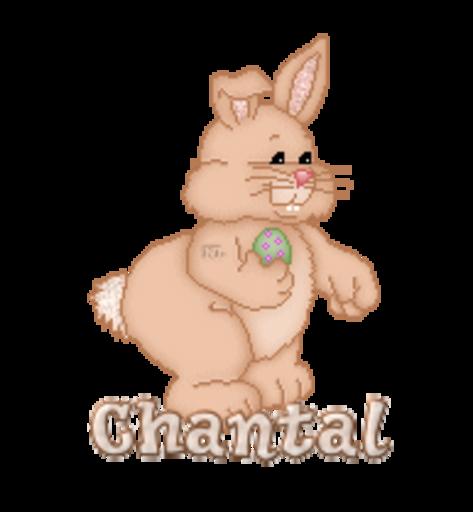 Chantal - BunnyWithEgg