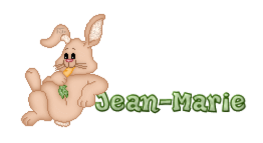Jean-Marie - BunnyWithCarrot