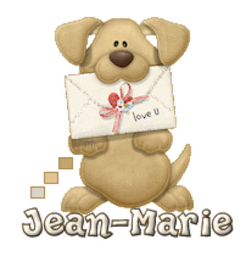Jean-Marie - PuppyLoveULetter