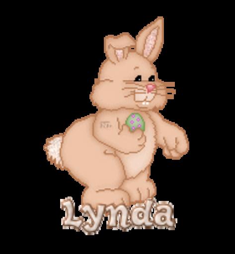 Lynda - BunnyWithEgg
