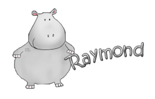 Raymond - CuteHippo2018