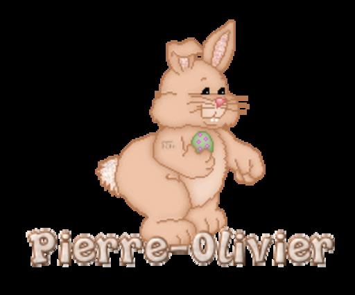Pierre-Olivier - BunnyWithEgg