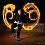Fire Fan Spinner