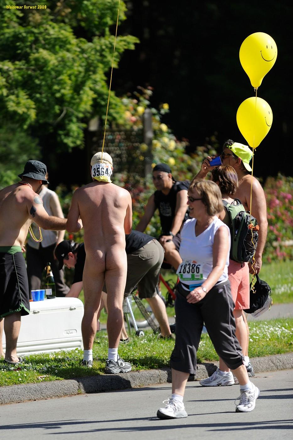 Nudist Break