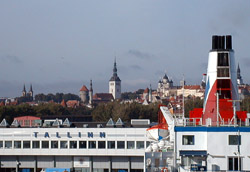 Tallinn skyline from the Black Watch