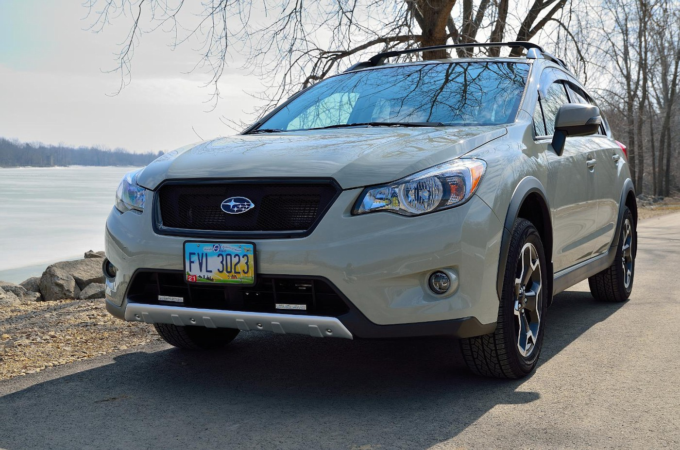 All Black Sport Mesh Grill On Khaki Crosstrek Page 4