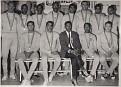 Sélection Nationale de Volley Ball à Mexico City 1967.