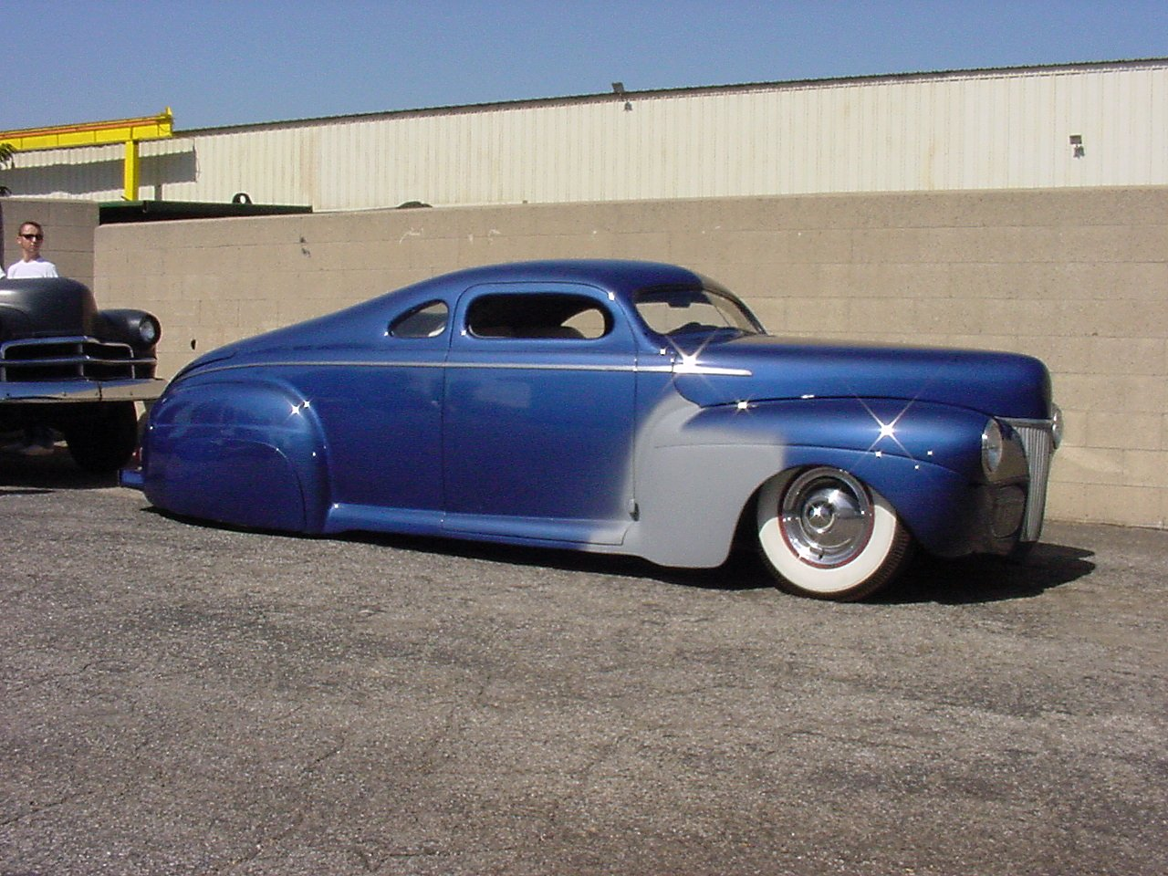 Photo Dsc07872 1941 Ford Coupe Medium Blue Heavy Chop Album