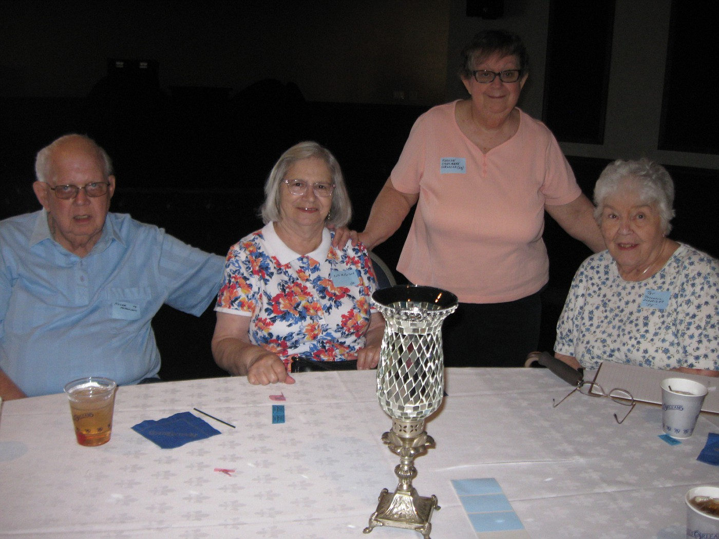 Roger & Anita McFarland, Marylyn Schiller, Pat Schneider