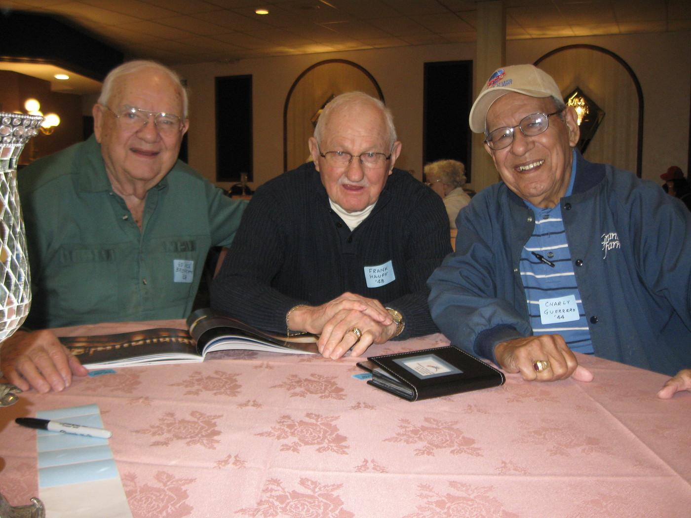 Ed Bronczyk, Frank Hauff, Chas Guerrero
