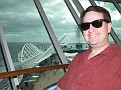 Mike at the top of the ship