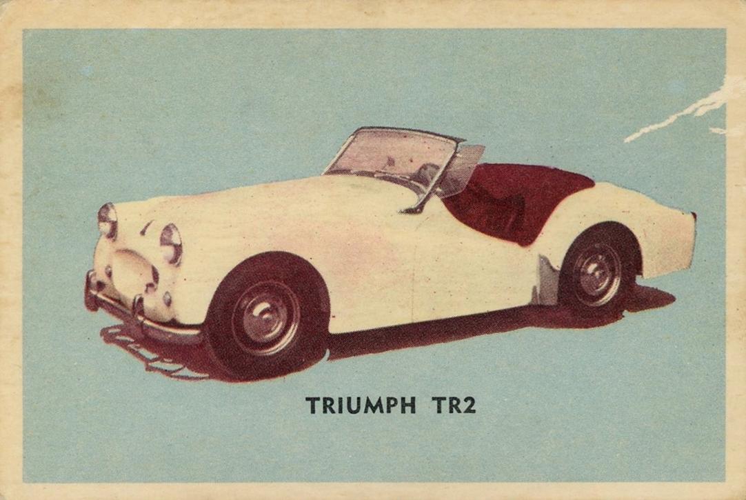 1956 Parkhurst Sports Cars #09 (1)