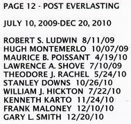 PAGE 12e - POST EVERLASTING - JULY 10, 2009-DEC 20, 2010