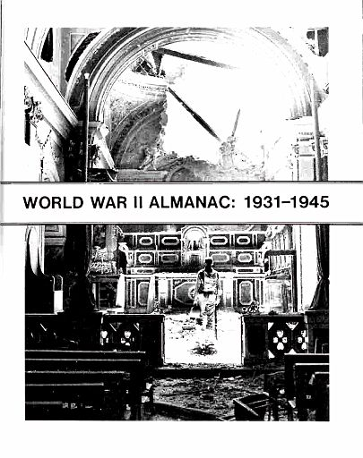 PAGE 01 - WORLD WAR II ALMANAC