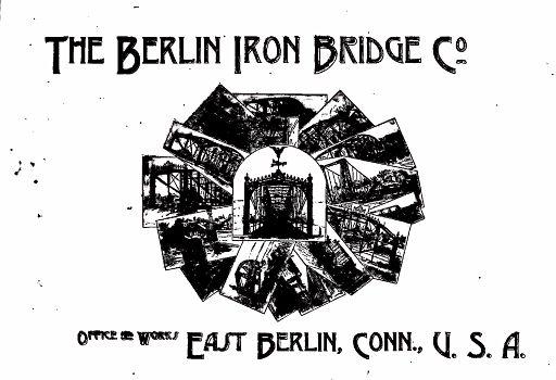 BERLIN IRON BRIDGE CO  - COVER