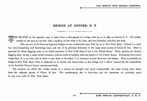 BERLIN IRON BRIDGE CO  - PAGE 020