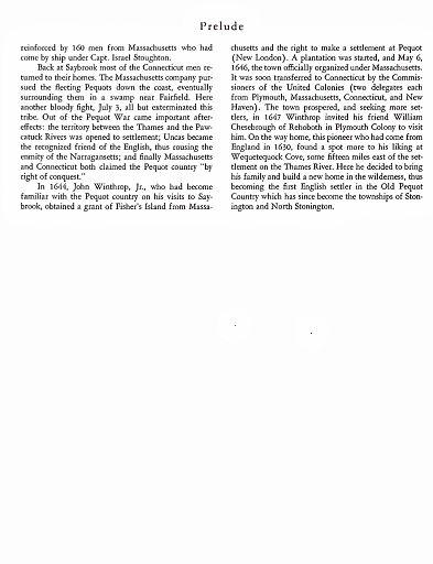 STONINGTON CHRONOLOGY - PAGE 010