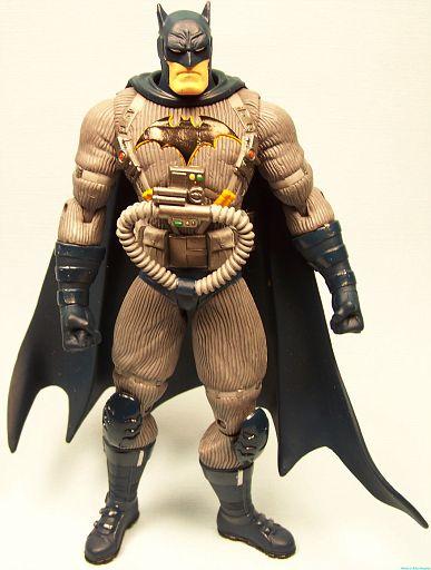Batman in some weird costume