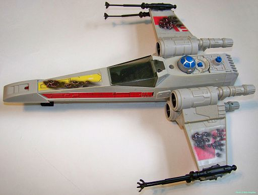 X-Wing (battle damaged)