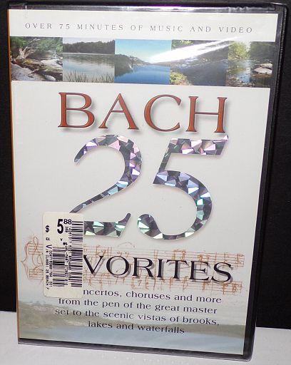 Bach 25 Favorites