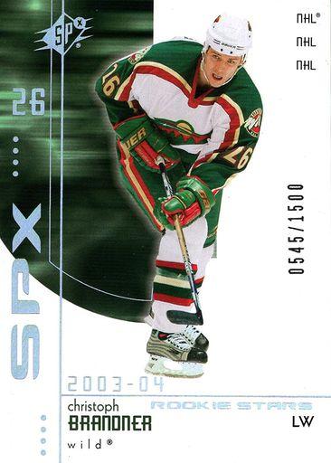 2003-04 SPx Rookie Exchange #R201 (1)