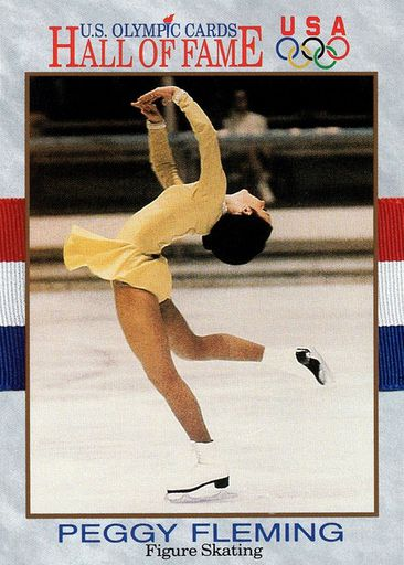 1991 US Olympic Hall of Fame Prototype Peggy Fleming (1)