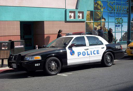 CA - Santa Monica Police Ford