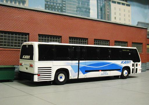Academy Bus Lines Hoboken N.J.  #75
