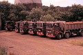 ERF B Series rigid 4, 6 & 8 wheeler tipper fleet 1980