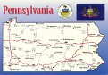 00- Map of PENNSYLVANIA (PA)