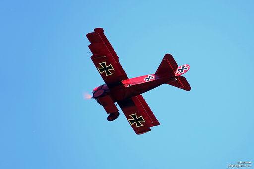 Rekonstrukcja Fokkera Czerwonego Barona von Richthofen'a