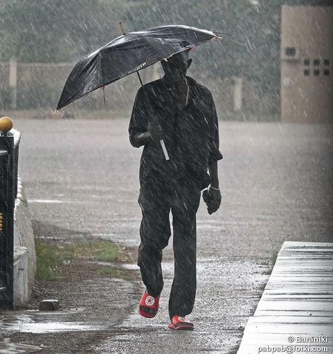 W Afryce też pada