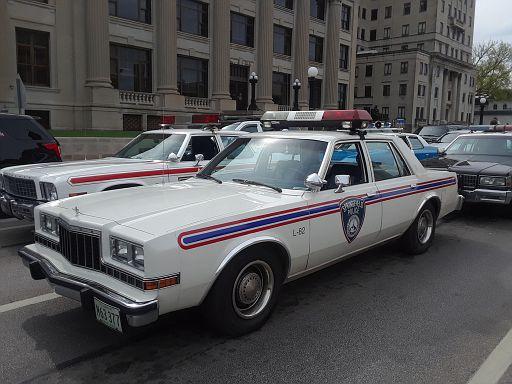 IL- Springfield Police 1987 Dodge Diplomat