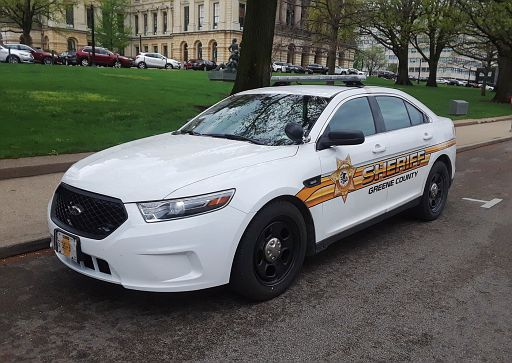 IL- Greene County Sheriff 2016 Ford Taurus