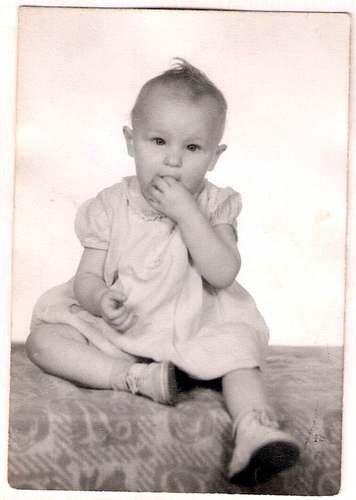 166-Aunt Pat at 16 months old