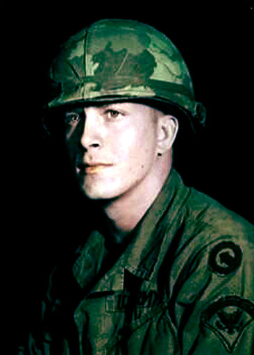 #3-Specialist 5, Terry Carver, Vietnam 18 July 1969-22 Oct 1970