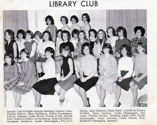 NHS (38) LIBRARY CLUB