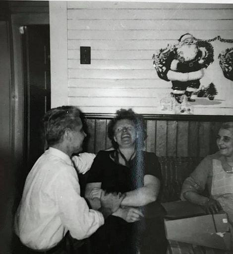Emil, Artie Kenny Sharp, and Grandma Sharp