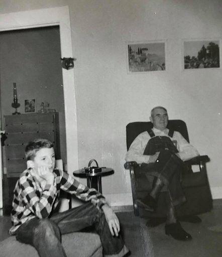 Terry and Grandpa Sharp
