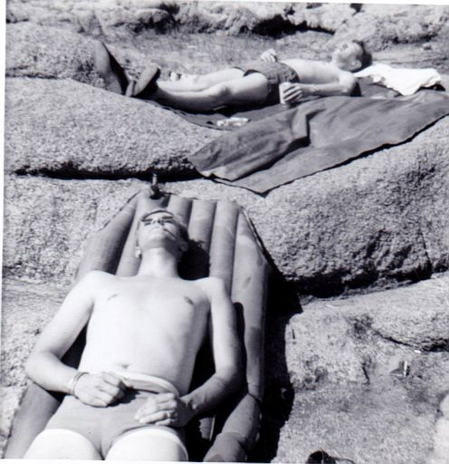 ERay in 1967, at Elmer Thomas Lake on Ft. Sill.