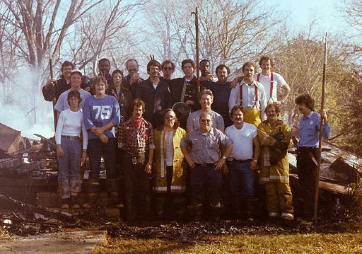 Fire rookie school circa 1978 - before TRFA.