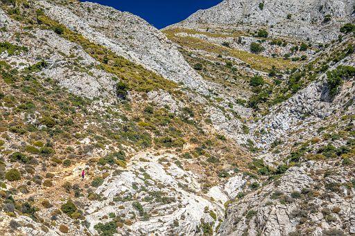 Path to Zeus' Childhood Cave