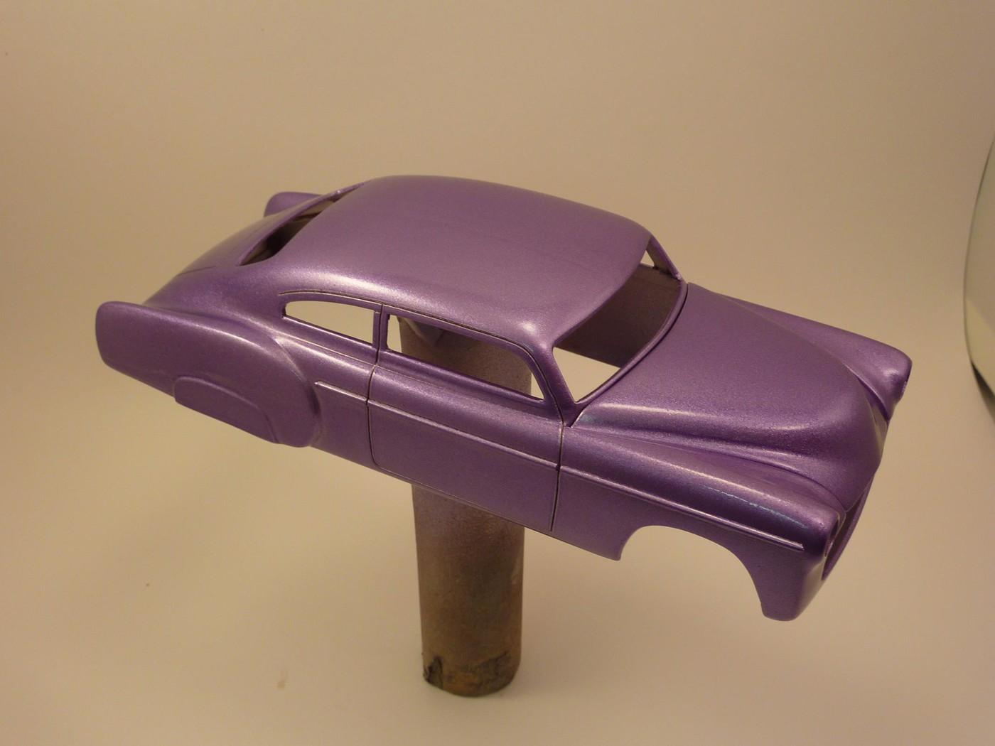Refection complete d'une ancienne Chevy 51 Fleetline terminée Photo22-vi