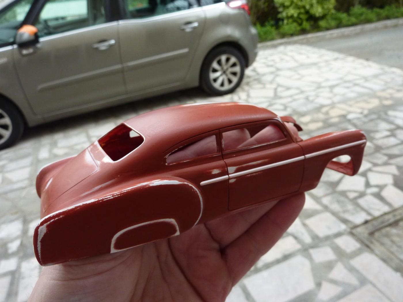Refection complete d'une ancienne Chevy 51 Fleetline terminée Photo7-vi