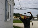 Power Washing the Office and Air Conditioners 10-22-09 (6)