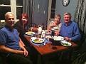 Homemade wine (Pinot Noir) and Dinner at Erin's House '-)))  Slainte!!!